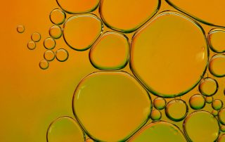 Close up of vegetable oil