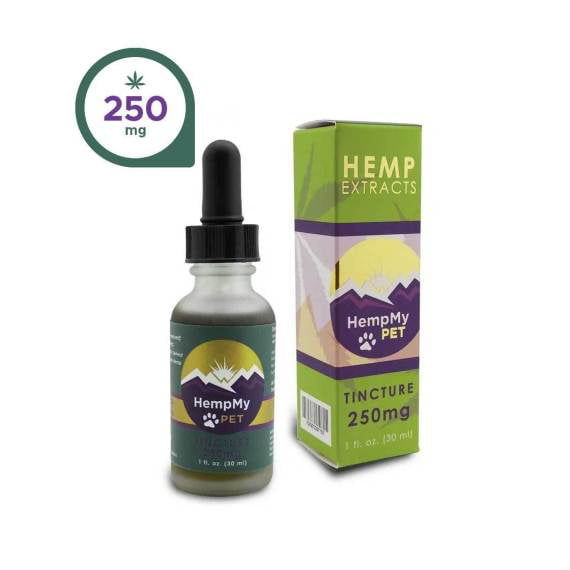 Hemp Seed Oil, Organic - 250mg CBD Full Spectrum