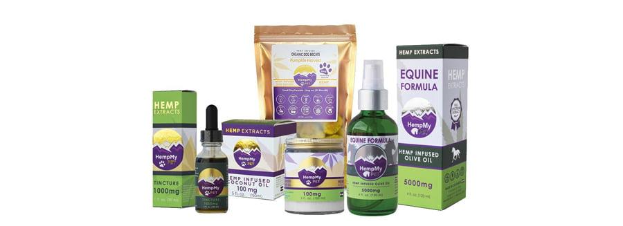 HempMy Pet's CBD products