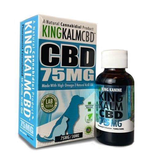 KING KALM™ CBD 75mg - Small Size Dog & Cat Formula