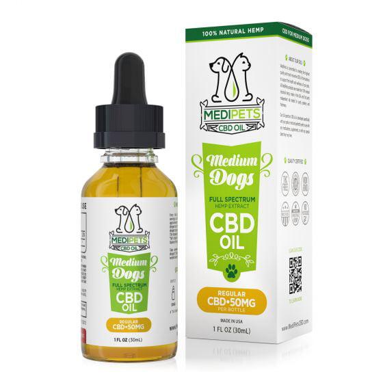 MediPets CBD Oil for Medium Dogs