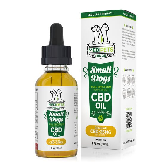 MediPets CBD Oil for Small Dogs