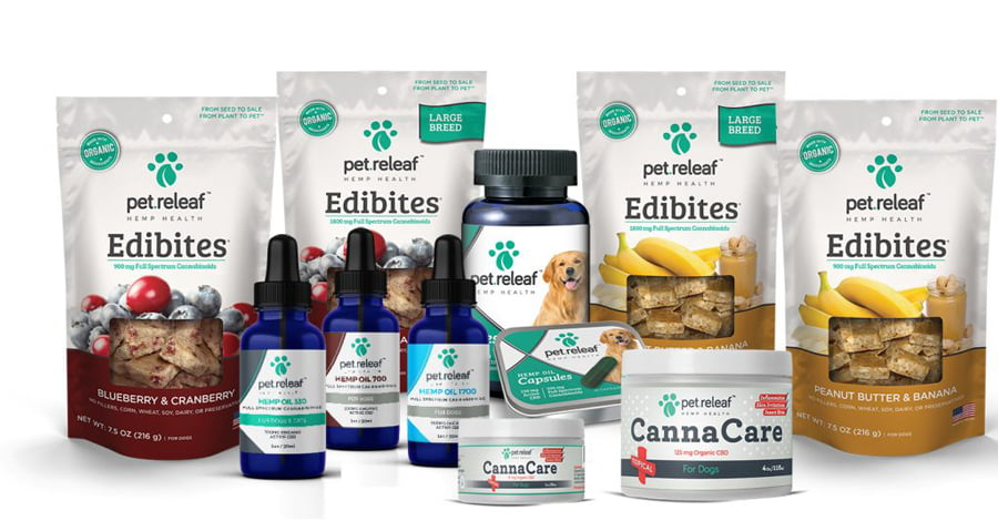 Pet ReLeaf products