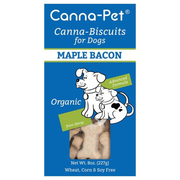 Canna-Biscuits for Dogs: Advanced Formula Maple Bacon