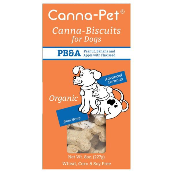 Canna-Biscuits for Dogs: Advanced Formula PB&A