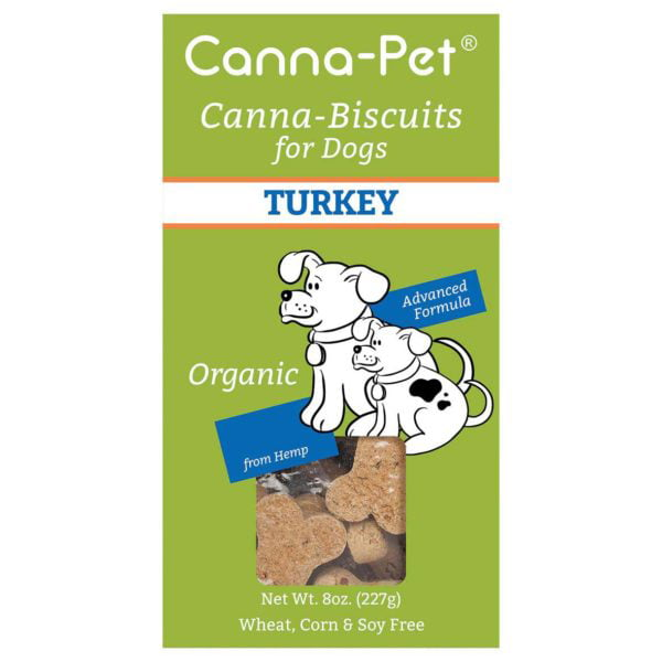 Canna-Biscuits for Dogs: Advanced Formula Turkey