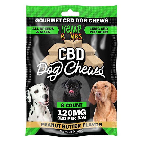 Hemp Bombs CBD Dog Chews