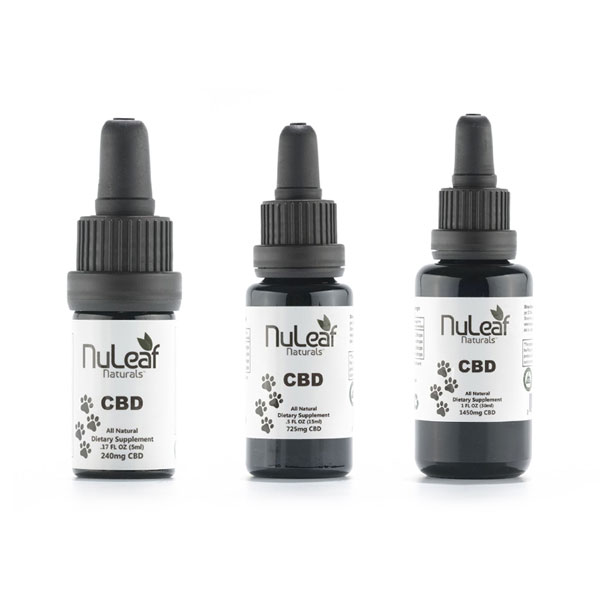NuLeaf – Full Spectrum Hemp CBD Pet Oil